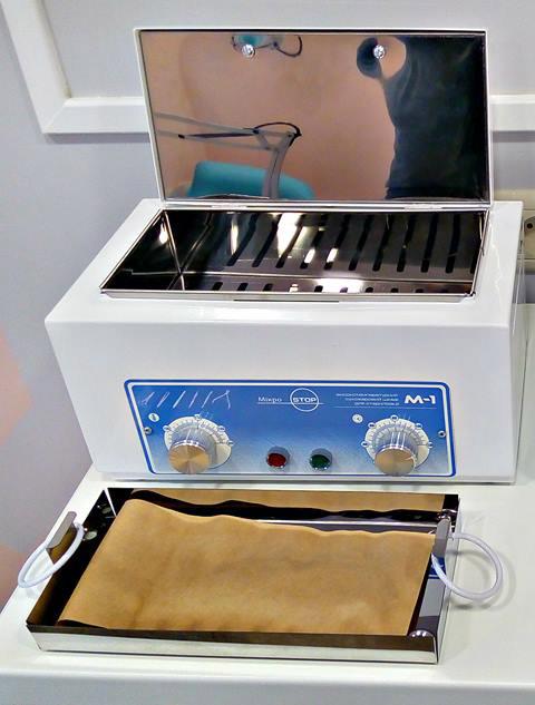Дезинфекция инструментов для маникюра